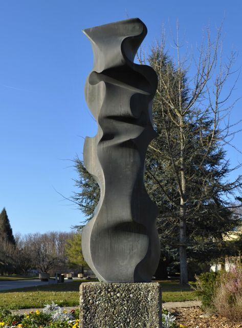 La Flamme   1976 - Crématoire Genève