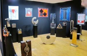André Bucher, Exposition SNBA, Carousel du Louvre, Paris, déc. 2012